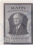 Sellos de America - Haití -  En memoria de E.D. Roosvelt