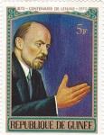 Sellos de Africa - Guinea -  1870 Centenario de Lenin 1970