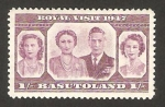 Stamps Africa - Lesotho -  basutoland - familia real británica