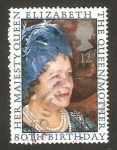 Stamps United Kingdom -  80 anivº de la Reina Madre Elizabeth