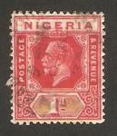 Stamps : Africa : Nigeria :  George V