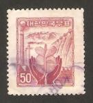 Stamps : Asia : South_Korea :  el resurgir de la industria