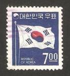 Stamps : Asia : South_Korea :  Bandera