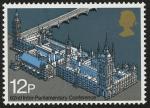 Stamps United Kingdom -  REINO UNIDO -Palacio y abadía de Westminster e iglesia de Santa Margarita