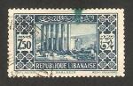 Sellos de Asia - Líbano -  ruinas de baalbeck