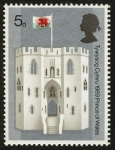 Sellos de Europa - Reino Unido -  REINO UNIDO - Castillos y recintos fortificados del rey Eduardo I
