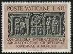 Stamps Vatican City -  ITALIA -  Monumentos paleocristianos de Rávena