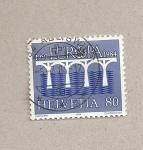 Stamps Switzerland -  Puente
