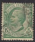 Sellos de Europa - Italia -  Víctor Manuel III