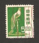 Stamps Asia - Japan -  Gallo de cola larga de Tosa