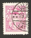 Stamps : Europe : Latvia :  escudo de armas