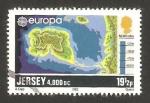 Sellos del Mundo : Europa : Isla_de_Jersey : Europa cept, formación de la isla