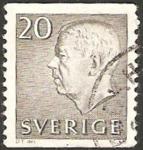 Stamps Sweden -  gustavo VI