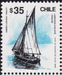 Stamps Chile -  LANCHON CHILOTE