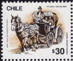 Sellos de America - Chile -  VICTORIA