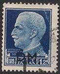 Sellos de Europa - Italia -  Víctor Manuel III de Italia