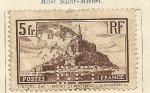 Stamps France -  Mont San Michel