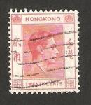 Sellos de Asia - Hong Kong -  george VI