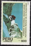 Stamps Peru -  PARQUE NACIONAL DE HUASCARAN