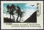 Sellos del Mundo : America : Perú : PARQUE NACIONAL DE HUASCARAN-condor