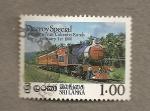 Stamps Asia - Sri Lanka -  Inauguración lineas Colombo-Kandy