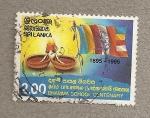 Stamps Asia - Sri Lanka -  Centenario escuela Dhamma