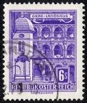 Sellos de Europa - Austria -  Edificios y monumentos