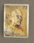 Stamps Sri Lanka -  Venerable Kalukondayave Sri Pranasekhara Mahanayaka  Thero
