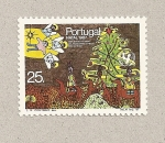 Stamps Portugal -  Navidad 1987