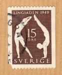 Stamps Sweden -  Lingiaden 1949 (serie 2/2)
