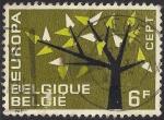 Stamps Belgium -  Europa.