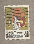 Stamps Asia - Sri Lanka -  Día Internacional de la Mujer