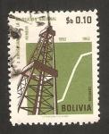 Stamps Bolivia -  X anivº de la revolución nacional