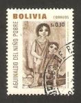 Stamps : America : Bolivia :  aguinaldo del niño pobre