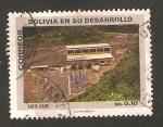 Sellos de America - Bolivia -  Bolivia en su desarrollo, mina de santa isabel
