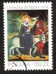 Stamps Europe - Poland -  UCIECZKA DO EGIPTU XV W.