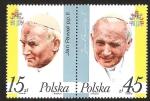 Sellos del Mundo : Europa : Polonia : JAN PAWEL PP. II - JUAN PABLO II