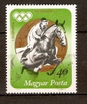 Stamps Hungary -  COMPETENCIA   ECUESTRE