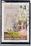 Stamps Chile -  Conicyt