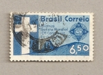 Stamps Brazil -  10 congreso Batista en Río