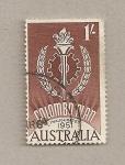 Sellos de Oceania - Australia -  Plan de Colombo