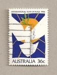 Stamps Australia -  Año internacional por la paz