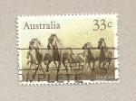 Stamps Australia -  Caballo salvajes