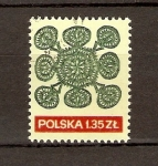 Stamps Poland -  ARTE   FOLKLÓRICO   EN   PAPEL