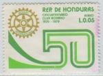 Stamps Honduras -  Rotary International