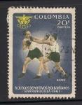 Sellos de America - Colombia -  Boxeo.