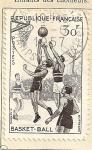 Sellos de Europa - Francia -  Baloncesto