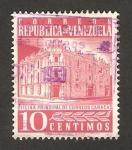 Stamps : America : Venezuela :  edificio de correos de caracas