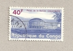 Sellos de Africa - República Democrática del Congo -  Palacio de la nación en Leopoldville