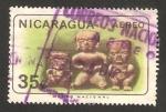 Stamps of the world : Nicaragua :  Antigüedad indígena